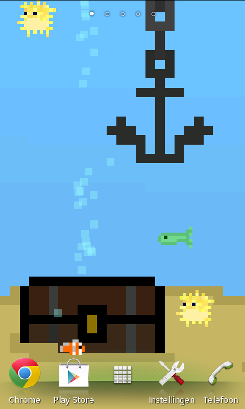 8-bit Aquarium -Live Wallpaper - screenshot