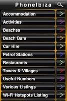 Screenshot of Phone Ibiza