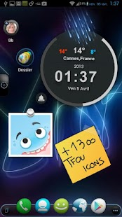 TSF Shell Theme Tfou HD- screenshot thumbnail