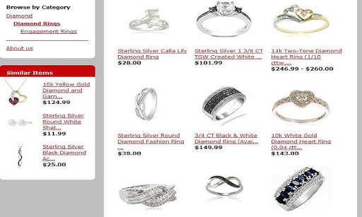 Diamonds and Jewelry Store