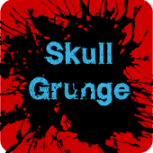Skull Grunge HD Icon Pack