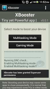 XBooster *ROOT* - Free- screenshot thumbnail