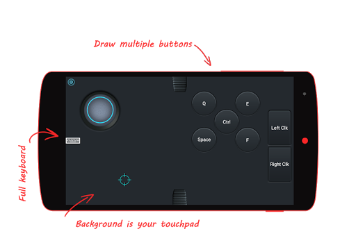 AndroG - Game Controller