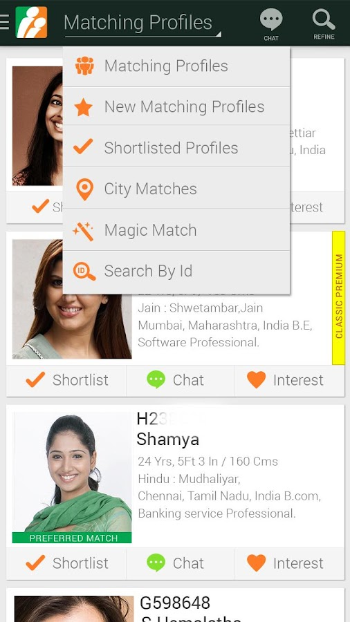 BharatMatrimony - screenshot