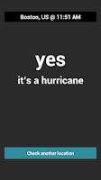 Screenshot of Is It Hurricane