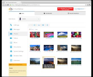 G Cloud Backup Screenshot 7