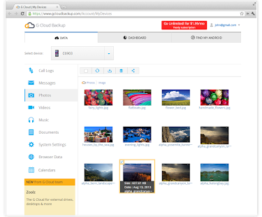 G Cloud Backup- screenshot thumbnail