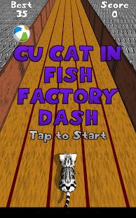 Cu Cat in Fish Factory Dash