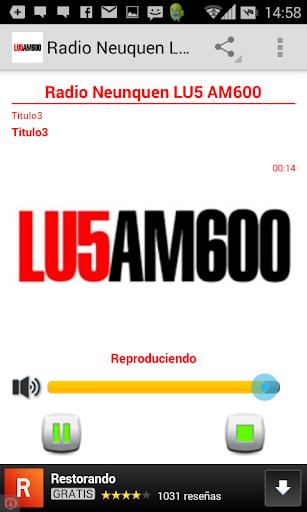 Radio Neuquen LU5