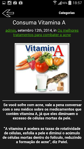 Combater a acne