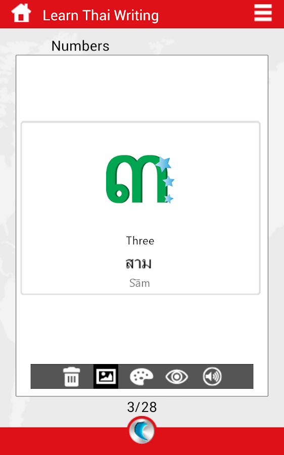 Learn Thai Writing by WAGmob - screenshot