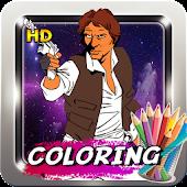 Wars Coloring Star