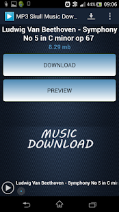MP3 Skull Music Download - screenshot thumbnail