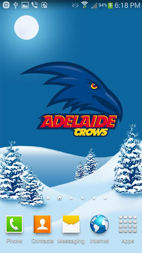 Adelaide Crows Snow Globe