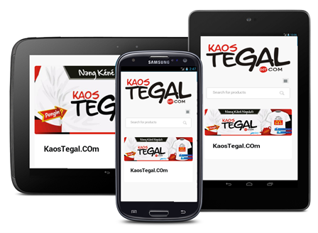Kaos Tegal dot Com Android- screenshot