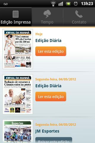 Jornal da Manhã- screenshot