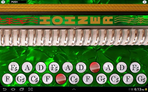 Hohner C#/D Button Accordion- screenshot thumbnail