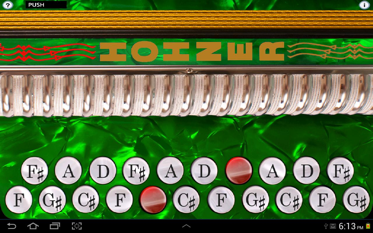 Hohner C#/D Button Accordion- screenshot