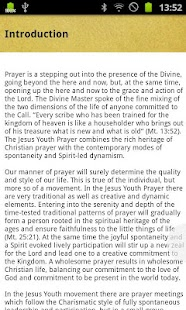 Jesus Youth Prayer- screenshot thumbnail