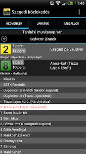 Szegedi közlekedés - screenshot thumbnail