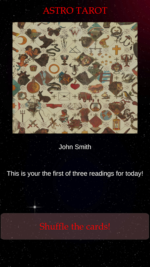 Astro Tarot Fortune Teller- screenshot