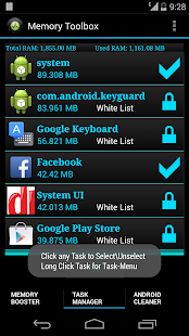 Memory Booster for Android- screenshot thumbnail