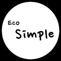 카카오톡 테마 - Eco Simple Black v2 icon