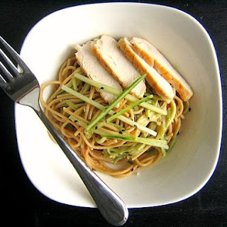 Cold(ish) Peanut Sesame Noodles
