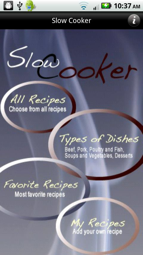iCooking Slow Cooker - screenshot