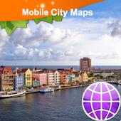 Curacao Street Map