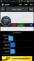 Screenshot of BatteryProgBar dark UCCW Skin