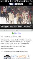 Screenshot of FOX 21 News - On the Go!
