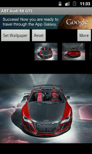 ABT Audi R8 GTS Wallpaper