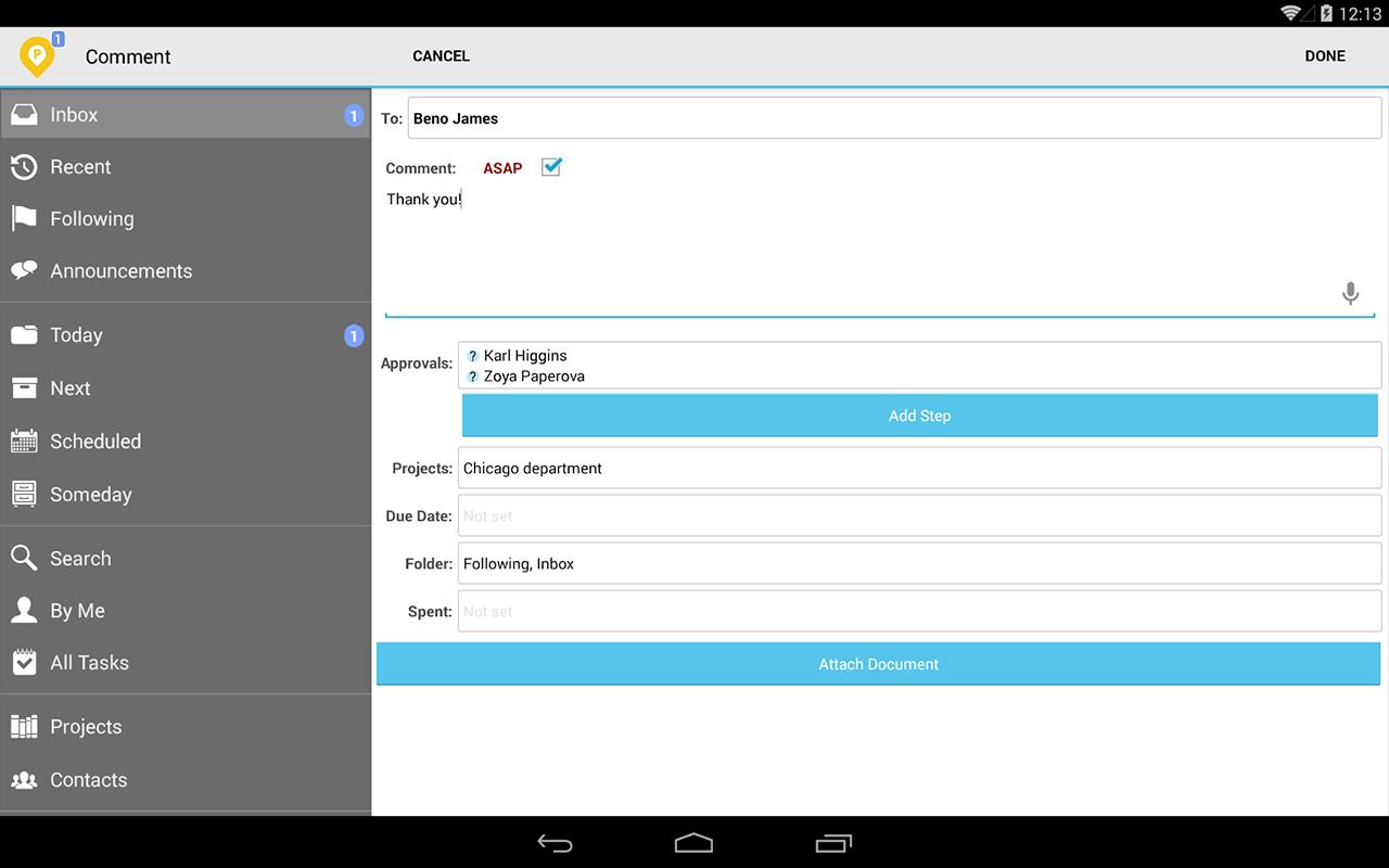 Pyrus - screenshot