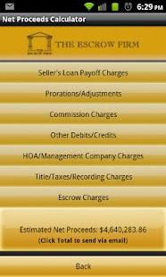 The Escrow Firm- screenshot thumbnail