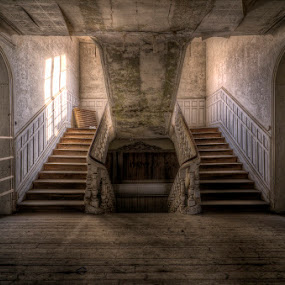 Decisions by Laurentzi Martinez Morilla - Buildings & Architecture Homes ( urban, urbex, lost, stairs, hdr, light, exploration, abandoned )