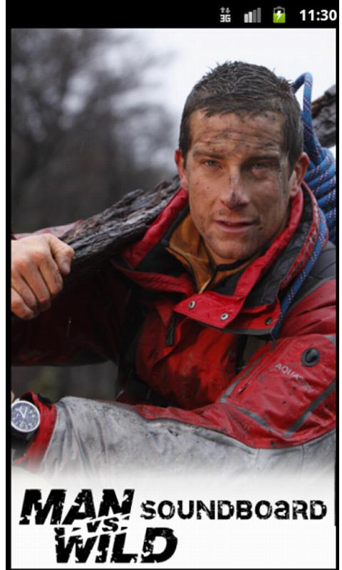 Bear Grylls Soundboard - screenshot
