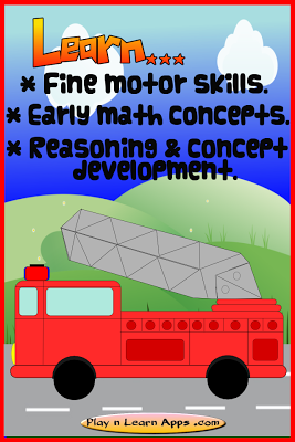 Fire Truck Game For Toddlers - screenshot