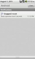 Screenshot of Signal Reset