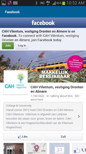 玩教育App|Up2date CAH Vilentum Dronten免費|APP試玩