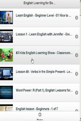 Video English Learning