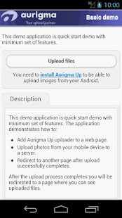 Aurigma Up - screenshot thumbnail