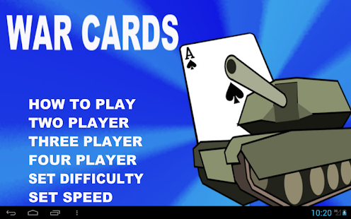 WAR Cards- screenshot thumbnail