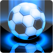 Blue Light Football LWP