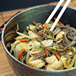 Quick and Easy Yakisoba