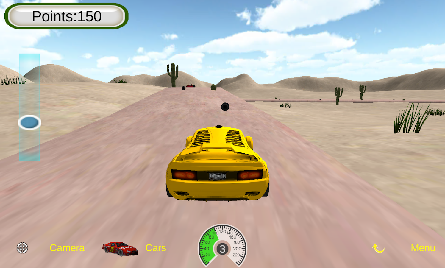 kids car racers screenshot