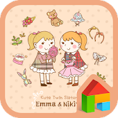 Twin sister Emma&Nikita dodol
