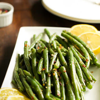 How to make crispy roasted Green Beans.