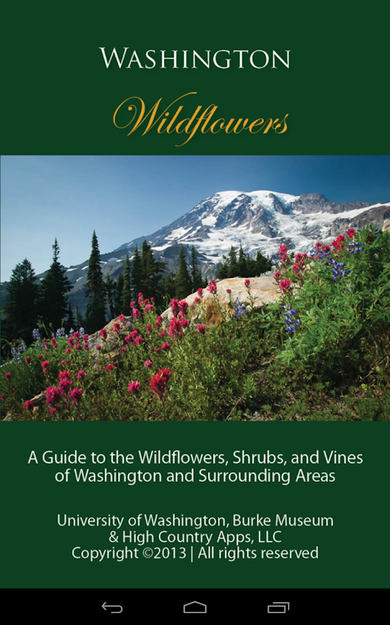 Washington Wildflowers - screenshot