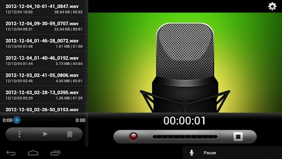 eRecorder: Voice Memo Recorder - screenshot thumbnail